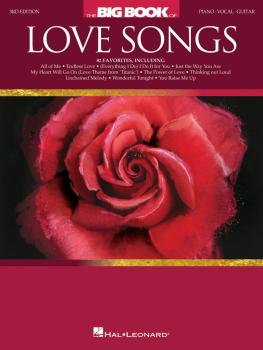 The Big Book of Love Songs - 3rd Edition (HL-00257807)