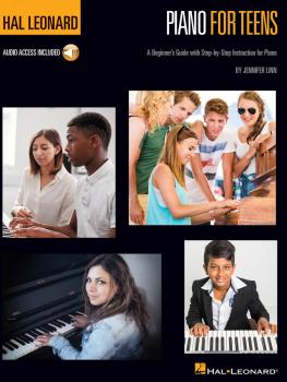 Hal Leonard Piano for Teens Method: A Beginner's Guide with Step-by-St (HL-00267011)