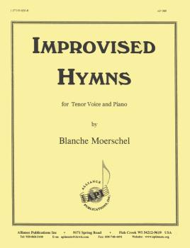 Improvised Hymns (for Tenor Voice and Piano) (HL-08770552)