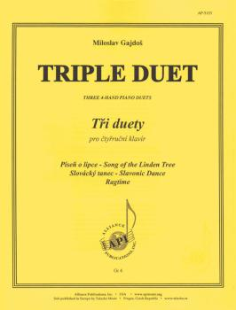 Triple Duet: Three 4-Hand Piano Duets (HL-08774007)