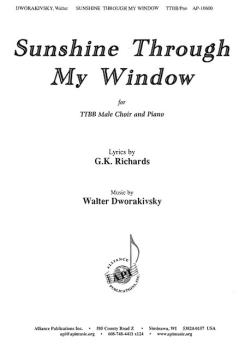 Sunshine Through My Window (HL-08774079)