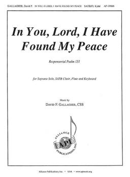 In You, Lord, I Have Found My Peace (HL-08774148)
