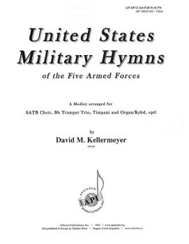 United States Military Hymns of the Five Armed Forces (HL-08774187)
