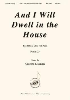 And I Will Dwell in the House (HL-08774198)
