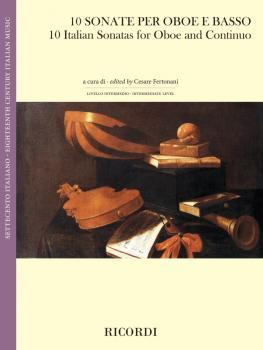 10 Italian Sonatas Oboe and Continuo (HL-50601136)