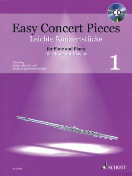Easy Concert Pieces Volume 1: 16 Pieces from 5 Centuries Flute and Pia (HL-49045860)