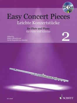 Easy Concert Pieces Volume 2: 20 Pieces from 4 Centuries Flute and Pia (HL-49045861)