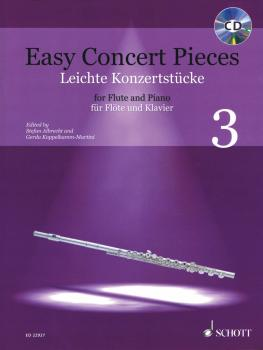 Easy Concert Pieces Volume 3: 12 Pieces from 4 Centuries Flute and Pia (HL-49045862)