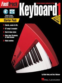 FastTrack Keyboard - Book 1 Starter Pack: Includes Method Book with Au (HL-00264734)