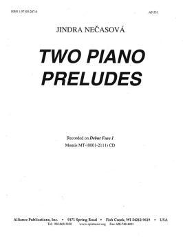 Two Piano Preludes (HL-08770521)