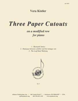 Three Paper Cutouts on a Modified Row for Piano (HL-08773587)