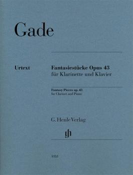 Fantasy Pieces Op. 43 (Clarinet and Piano) (HL-51481353)