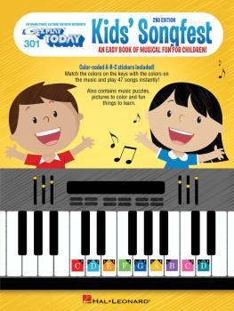 Kid's Songfest - 2nd Edition: E-Z Play Today Volume 301 (HL-00259570)