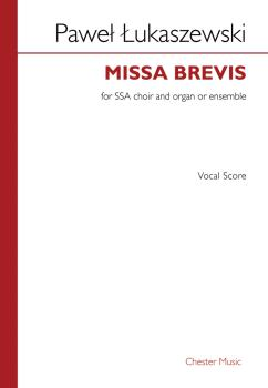 Missa Brevis Vocal Score SSA, Organ: Vocal Score SSA, Organ (HL-00255631)