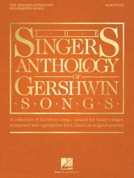 The Singer's Anthology of Gershwin Songs - Baritone (HL-00265880)