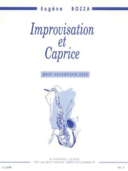 Improvisation et Caprice (Saxophone Solo) (HL-48181451)