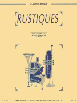 Rustiques (Trumpet and Piano) (HL-48181733)