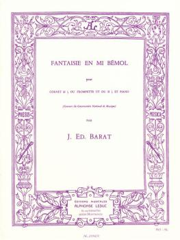 Fantaisie En Mi Bémol (for Cornet or Trumpet and Piano) (HL-48181908)