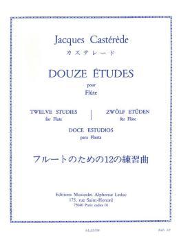 Douze Études Pour Flute: [Twelve Studies for Flute] (HL-48182158)