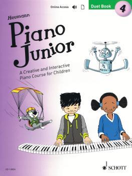 Piano Junior: Duet Book 4 (Book/Online Audio) (HL-49045916)