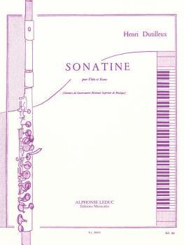 Sonatine (for Flute and Piano) (HL-48181107)