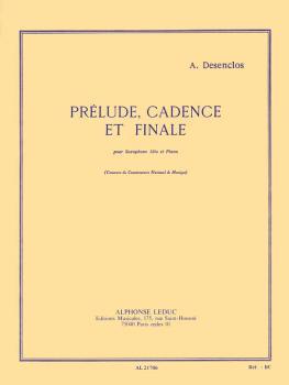Prélude, Cadence et Finale (for Alto Sax and Piano) (HL-48181794)