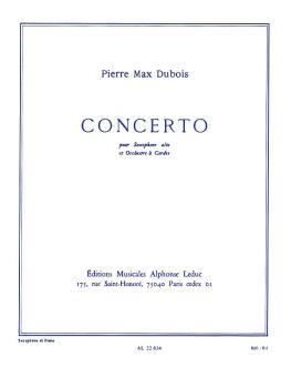 Concerto (for Alto Sax and Piano Accompaniment) (HL-48182023)