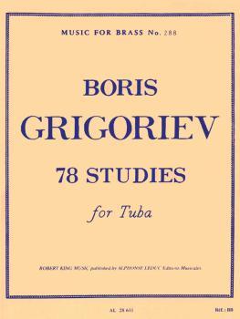78 Studies for Tuba: Music for Brass No. 288 (HL-48185249)