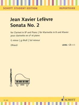 Sonata No. 2: G minor Clarinet and Piano (HL-49045905)