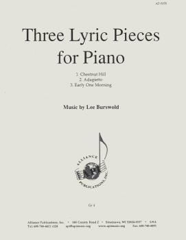 Three Lyric Pieces for Piano (HL-08773565)