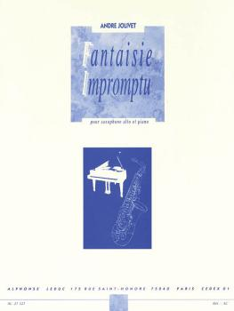 Fantaisie Impromptu (for Alto Sax and Piano) (HL-48181602)