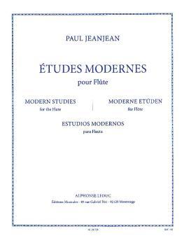 Études Modernes Pour Flute: [Modern Studies for Flute] (HL-48182950)