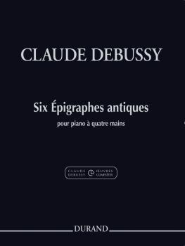 Six Épigraphes Antiques: Piano Four-Hand from the Complete Edition (HL-50565919)