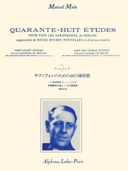 48 Studies for All Saxophones by Ferling (HL-48181165)