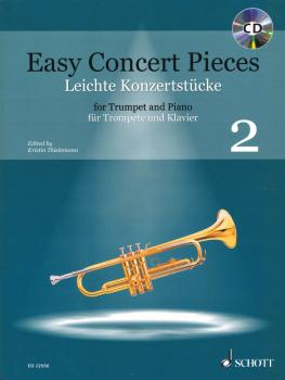 Easy Concert Pieces - Volume 2: 19 Pieces from 5 Centuries Trumpet and (HL-49045892)