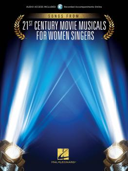 Songs from 21st Century Movie Musicals for Women Singers (HL-00275406)