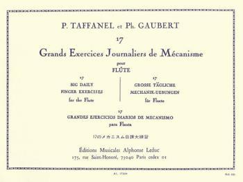17 Exercices Journaliers De Mécanisme Pour Flute Traversiere: [17 Big  (HL-48180297)