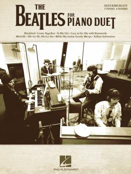 The Beatles for Piano Duet (Intermediate Level - 1 Piano, 4 Hands) (HL-00275877)