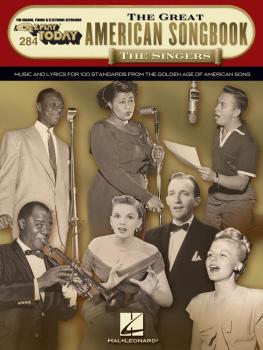 The Great American Songbook - The Singers: E-Z Play Today Volume 284 (HL-00281046)