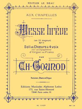 Messe Breve, No. 7 (for SATB and Organ) (HL-48180038)