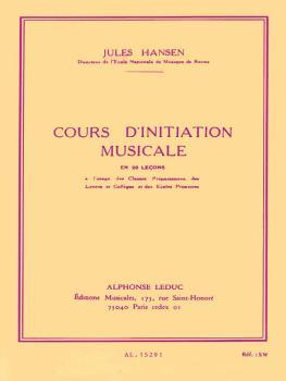 Cours D'initiation Musicale (En 20 Lecons) (HL-48180091)