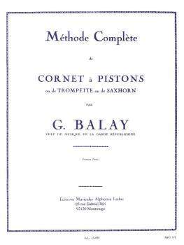 Méthode Compléte de Cornet á Pistons - Volume 1 (for Trumpet) (HL-48180095)