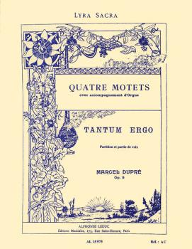 Quatre Motets - Tantum Ergo, No. 9: Choral Mixed Accompanied (HL-48180115)