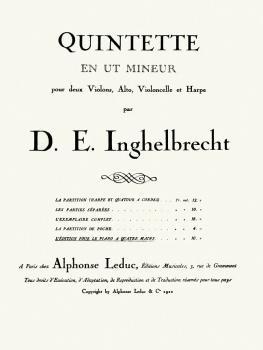 Quintette en Ut Mineur - Piano Duet ([Quintet in C Minor]) (HL-48180125)