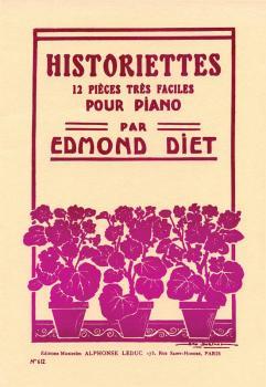 Historiettes: 12 Piéces Trés Faciles pour Piano (HL-48180137)