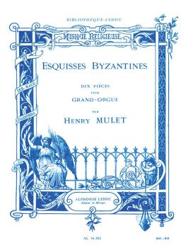 Esquisses Byzantines (for Organ) (HL-48180143)