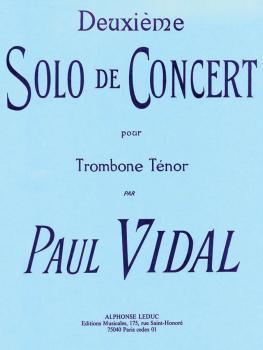 Deuxieme Solo de Concert pour Trombone Ténor (for Tenor Trombone) (HL-48180153)