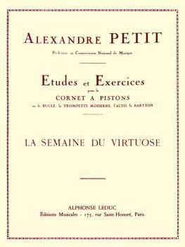 La Semaine du Virtuose (for Trumpet) (HL-48180171)