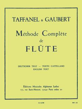 Méthode Complete de Flute: [Complete Flute Method] (HL-48180197)