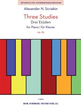 Three Studies for Piano, Op. 65 (HL-50601424)